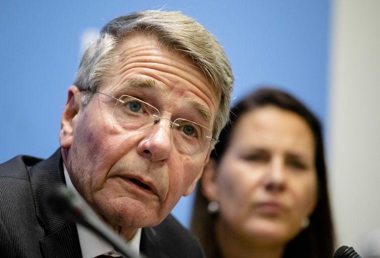 Piet Hein Donner, voorzitter van de adviescommissie uitvoering toeslagen.  Beeld null