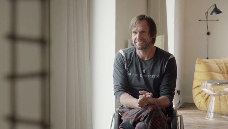 Marc Herremans in 'Het Huis'.