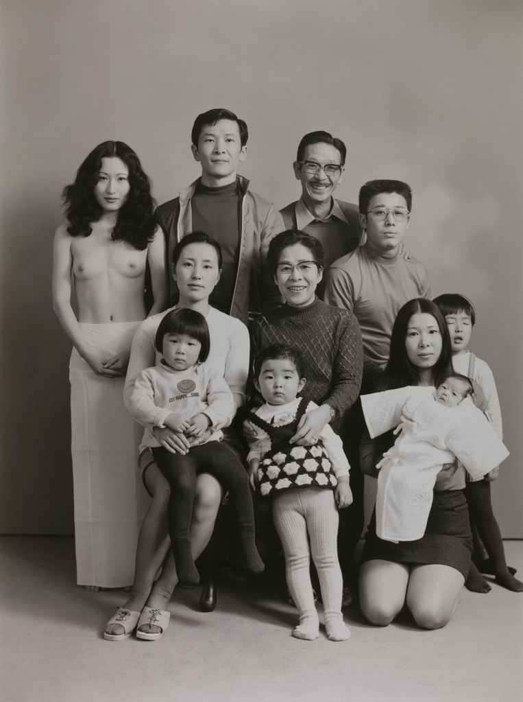 1972, uit de serie Family  Beeld Masahisa Fukase Archives, Michael Hoppen Gallery London