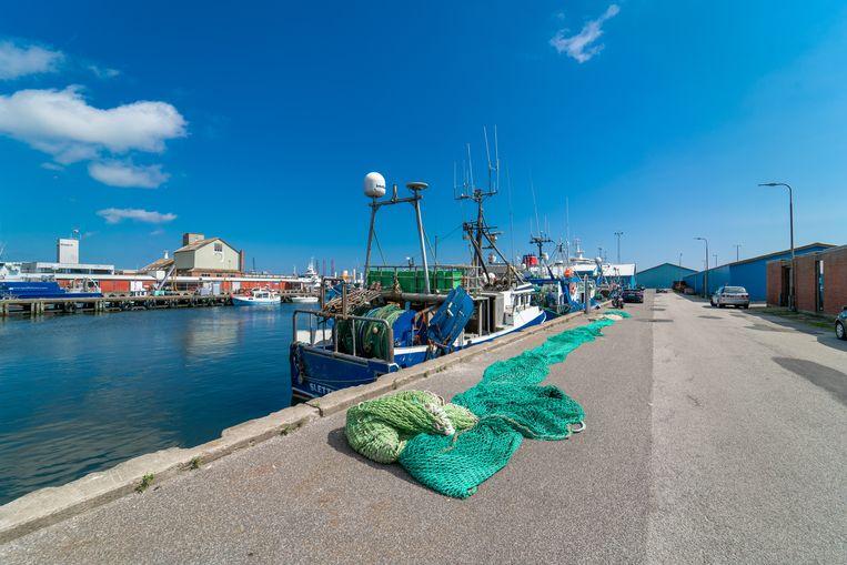 Een archieffoto van de Deense havenstad Grenaa.