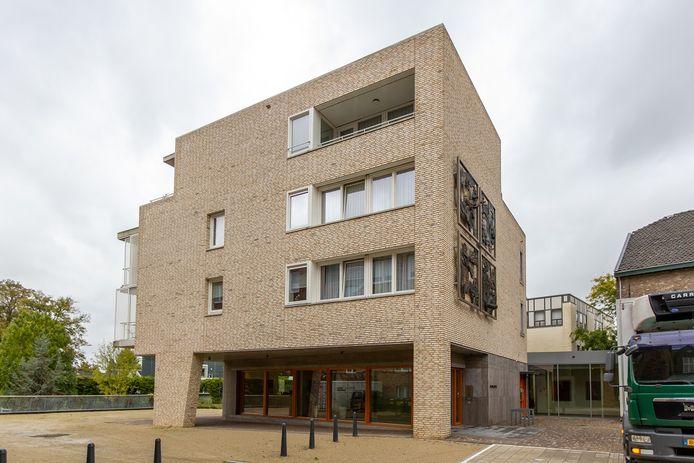 Het gemeentehuis van Meerssen.