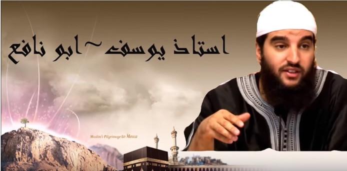 De omstreden imam Youssef Abou Nafi.
