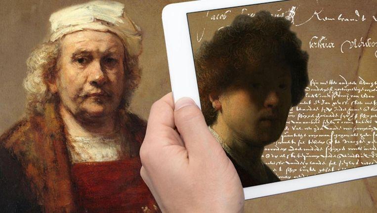 In de tentoonstelling Rembrandt Privé maakt het publiek kennis met het persoonlijke verhaal van de Hollandse meester. Beeld Stadsarchief Amsterdam