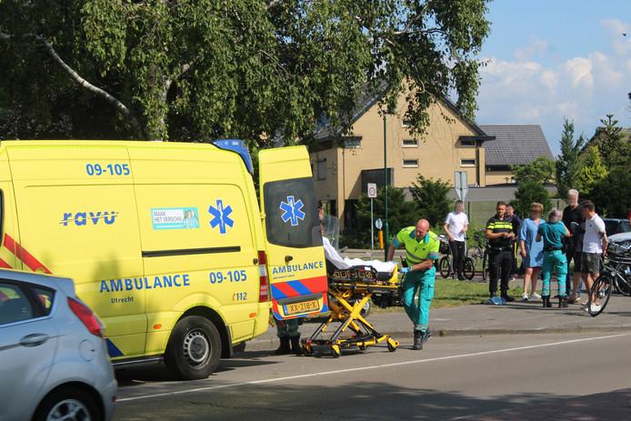 Er raakte een persoon gewond.