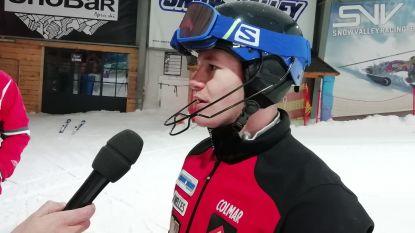 Twee jaar (en zeven operaties) later: Belgische topskiër hervat trainingen na zware val