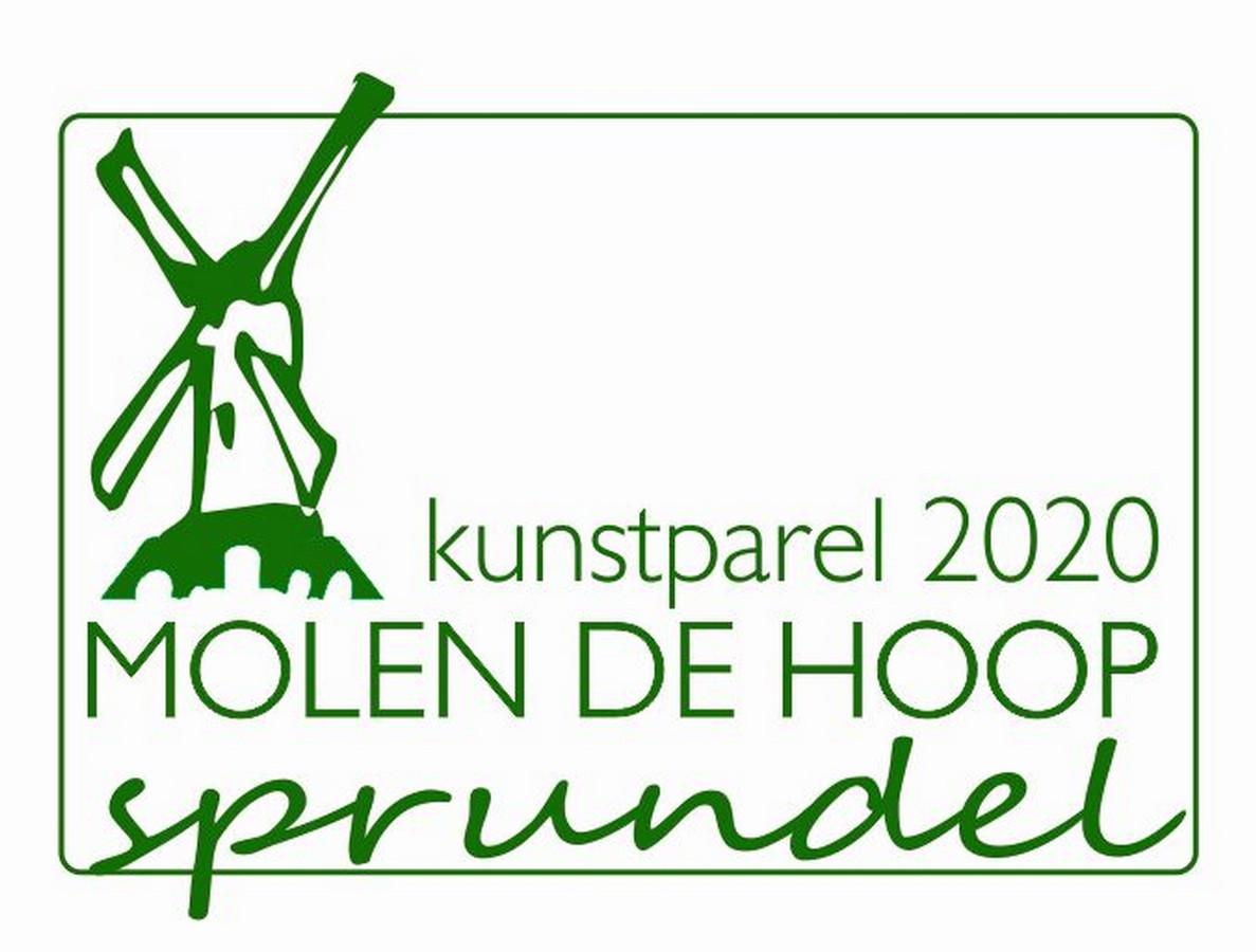 Het logo van Kunstparel 2020