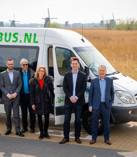 Shuttlebus naar de molens in Kinderdijk rijdt ook in 2020