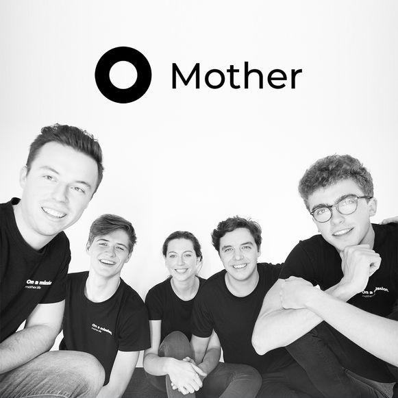 Het Mother Team is een Wetterse start-up.