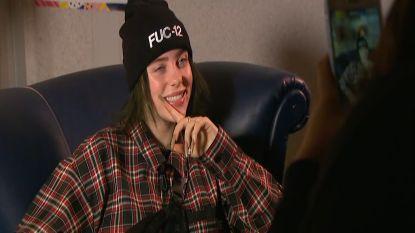 """Billie Eilish: """"Ik een rolmodel? Maar waarom?"""""""