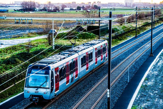 De metro gaat eindelijk rijden.
