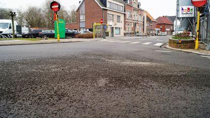 Labo onderzoekt kapot asfalt