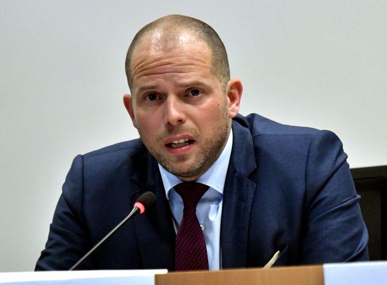 Oud-staatssecretaris voor Asiel en Migratie Theo Francken (N-VA).