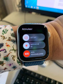 Met een smartwatch kun je hulpdiensten waarschuwen.