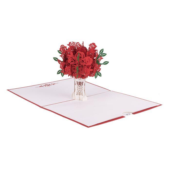 Een boeket rozen van Hartensteler