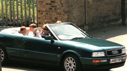 Te koop: Audi cabriolet van prinses Diana