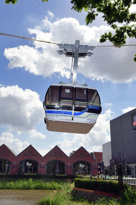 Positivisme over plan kabelbaan Roosendaal: moed om door te gaan