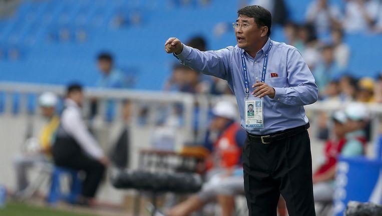 Yun Jong-su liet zich iets te fel gaan na het verloren duel tegen grote rivaal Zuid-Korea.