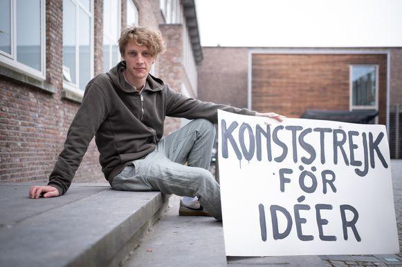 Benjamin Feys organiseert 'People For Culture' op het Cultuurplein in Mechelen.