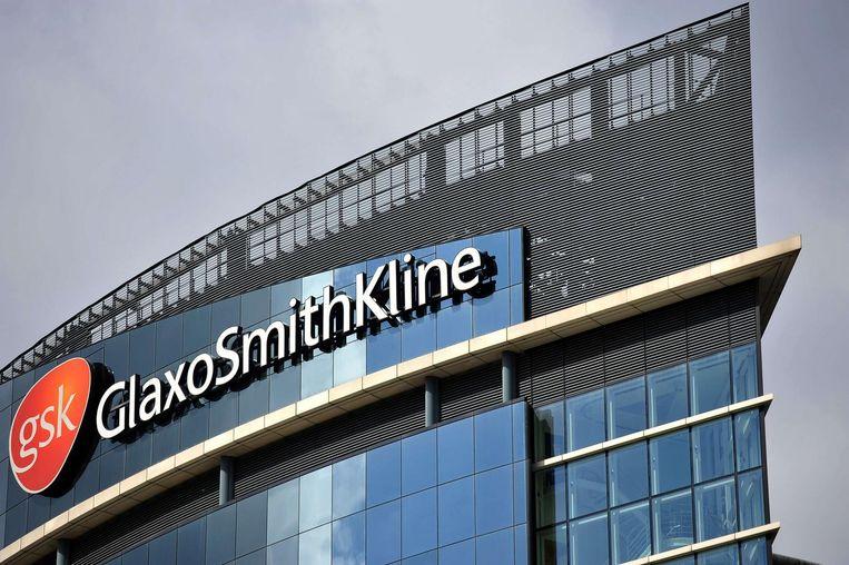 Het gebouw van GlaxoSmithKline. Beeld anp