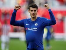 Fenomenale Morata maakt hattrick tegen Stoke