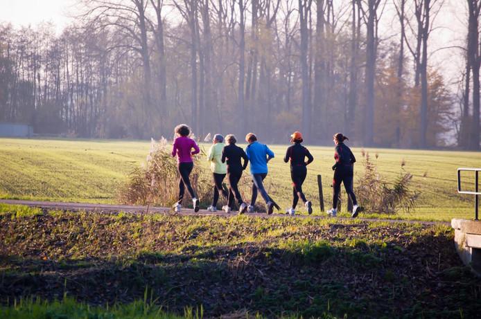 De Altena Road Runners trainen nu op de weg.