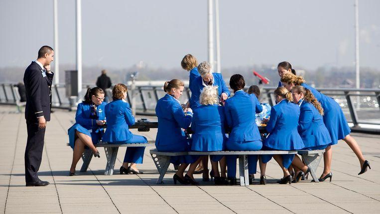Nederland kocht voor 744 miljoen euro 14 procent van de aandelen van de holding Air France-KLM. Maar een groeimotor is de luchthaven allang niet meer. Beeld ANP
