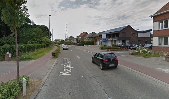 De Kapelstraat in Steendorp.