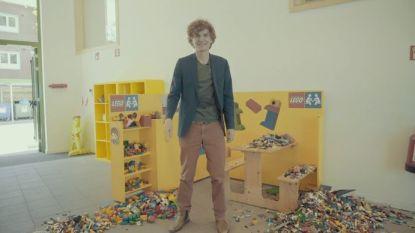 SOS HLN. Dankzij jullie kunnen de leerlingen van Pius X Antwerpen terug met Legoblokjes spelen