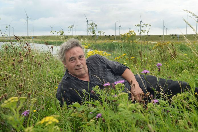 Kunstenaar en tuinarchitect Eric Odinot