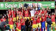 Benevento promoveert voor het eerst naar Serie A