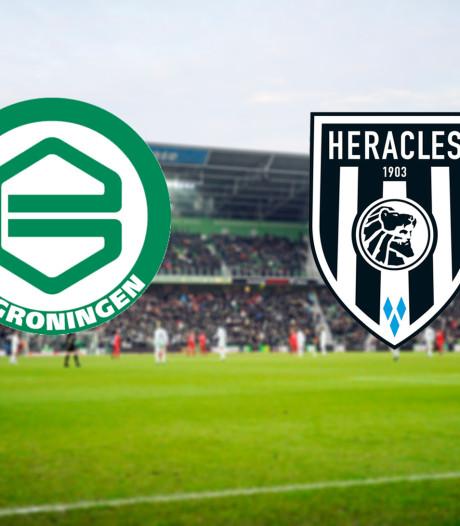 Vernieuwd Groningen opent jacht naar boven tegen Heracles