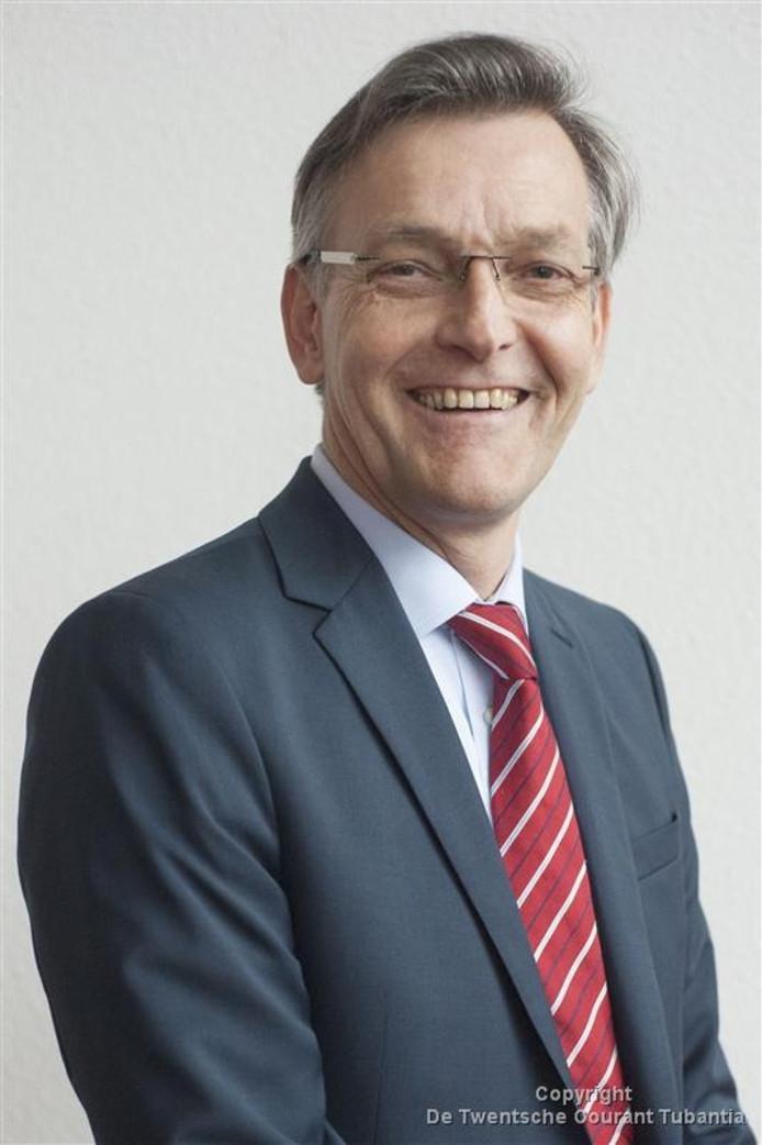 De opgestapte wethouder Bert Oudendijk