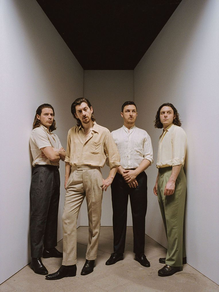 Arctic Monkeys Beeld null