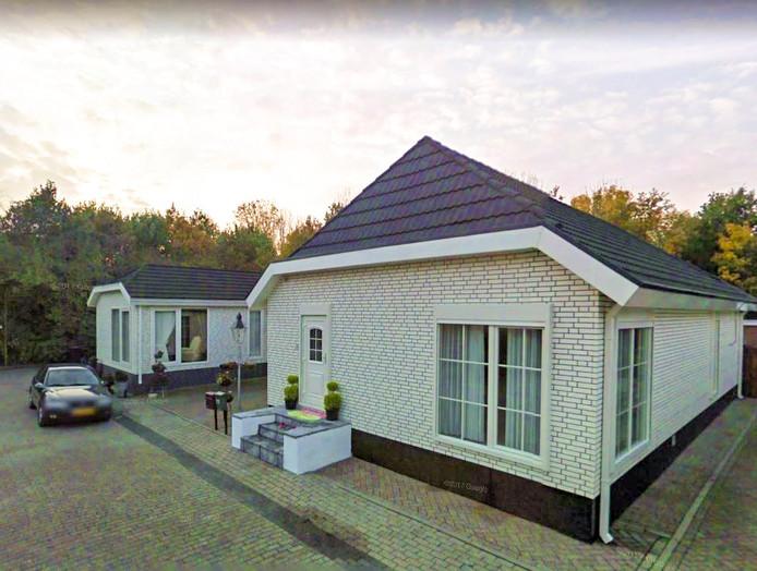 Woonwagenkamp aan de Meliskerkestraat in Arnhem-Zuid.