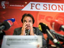 Sion-voorzitter ontslaat 39ste coach in 19 jaar