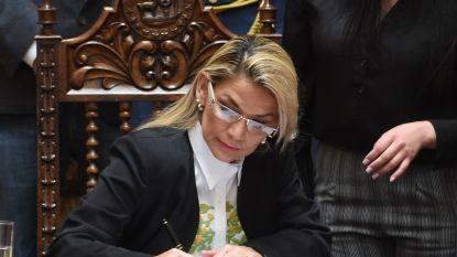 Boliviaanse interimpresidente tekent wet over nieuwe verkiezingen zonder oud-president Morales