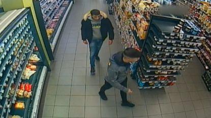 Twee mannen stelen ongemerkt 7.000 euro uit twee supermarkten