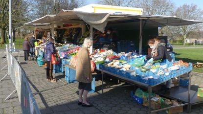 Geen supermarkt in Petegem, dus zaterdagmarkt mag doorgaan