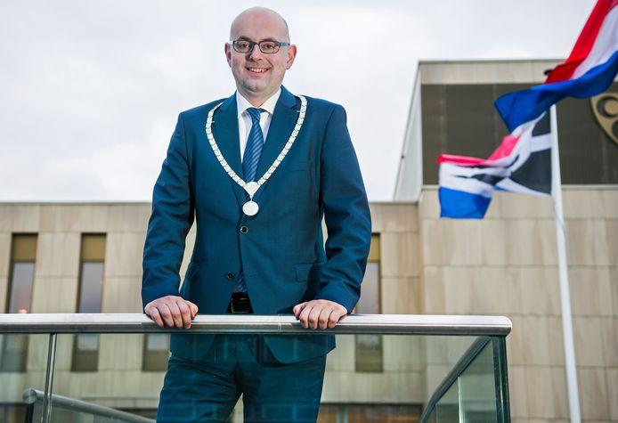 Burgemeester Martijn Vroom