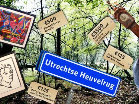 Utrechtse Heuvelrug krijgt begroting niet rond en dus wordt er kunst verkocht
