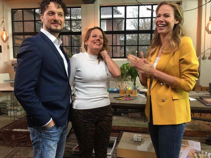 Michael en Jozien Barnhoorn uit Waddinxveen zijn woensdagavond te zien in het RTL-programma De Perfecte Verbouwing dat gepresenteerd wordt door Nicolette Kluijver.