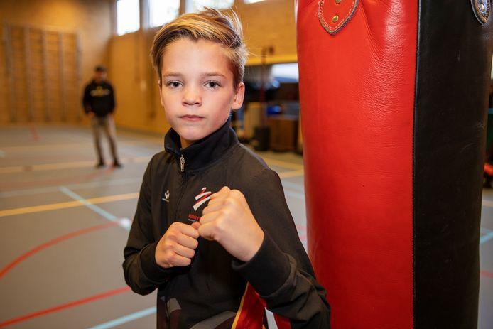 Joep van Limpt uit Veldhoven is een groot taekwondotalent.