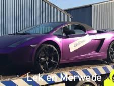 'Werkloze' wietkweker uit Gorinchem moet Lamborghini inleveren