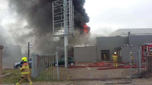 De brand in Arnhem.