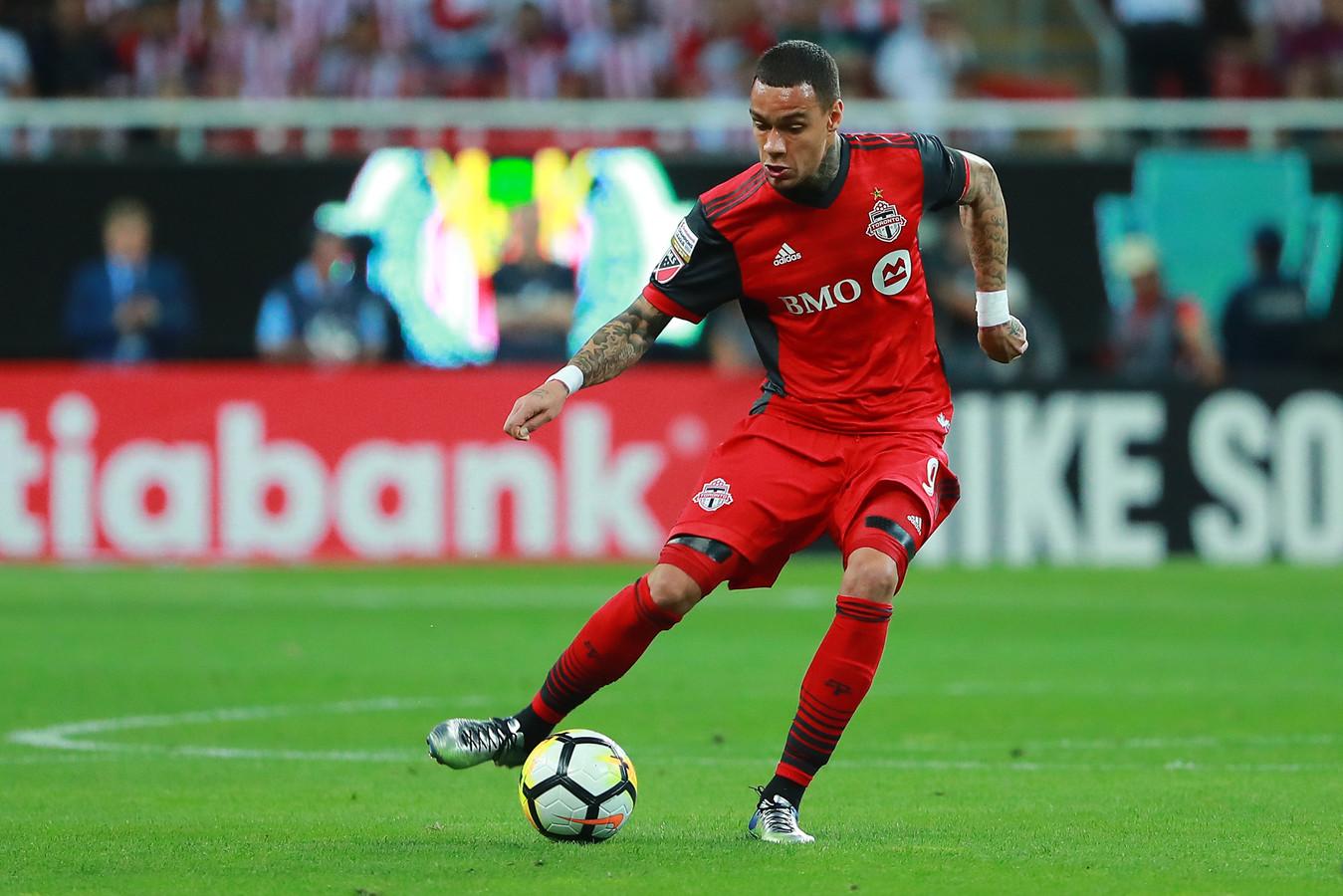 Gregory Van Der Wiel bij Toronto FC.