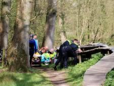 Traumahelikopter ingezet bij Hulsbeek voor zwaargewonde mountainbiker