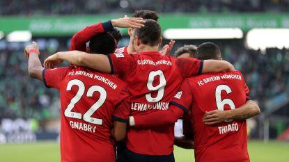 Bayern recht de rug tegen Wolfsburg, Casteels moet drie keer vissen