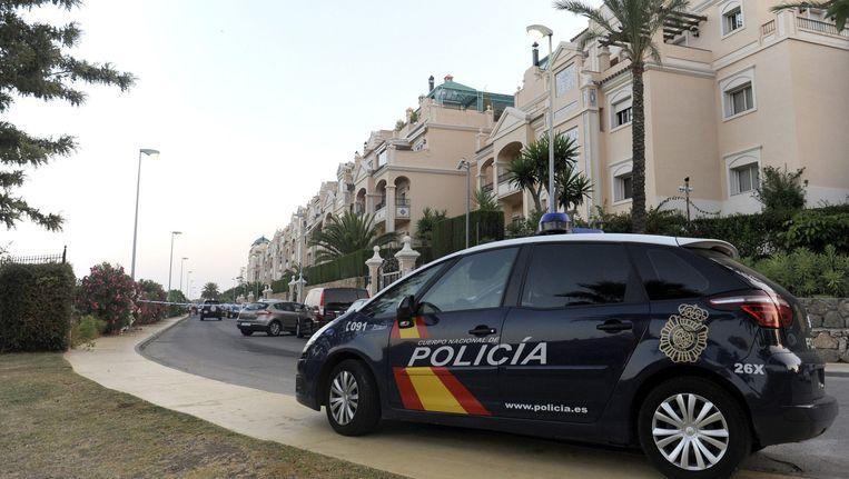 Een politieauto in Marbella Beeld anp