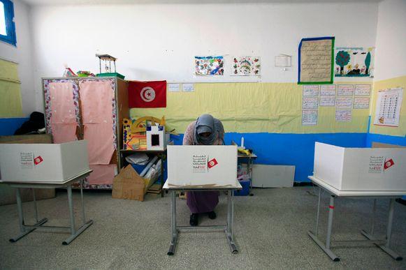 Verkiezingen in Tunesië.