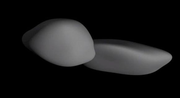 """Ultima Thule blijkt veel platter dan eerst gedacht. """"Een hoogst ongebruikelijke vorm"""", zegt de NASA."""